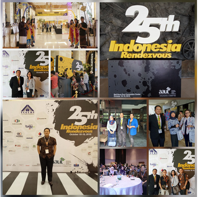 MANDARIN RE LTD. BUSINESS DEVELOPMENT MANAGER TOOK PART IN THE 25TH INDONESIA RENDEZVOUS